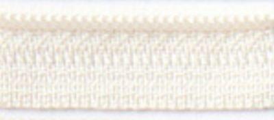 22 inch Zipper, Creamy  `
