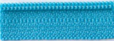 22 Zipper, Turquoise Splash`