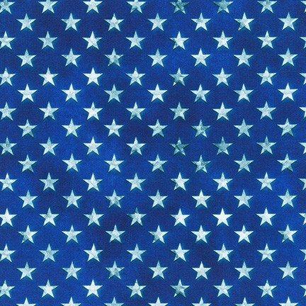 Robert Kaufman Patriots Digital Americana AWHD-18019-202  Stars '