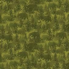 Benartex Bear Paws Bear Crossing`