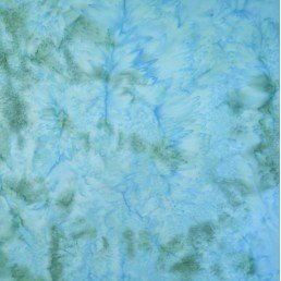 Batik by Mirah BL-10-1358 Blue Cave Knocking Blue '