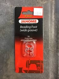 Janome Beading Foot Wide Groove 9mm '