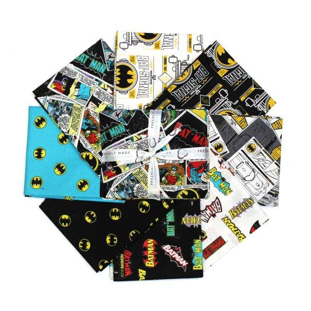 Batman 80 Anniversary Fat Quarter Bundle 8pcs. '
