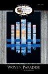Woven Paradise Lap Quilt Pattern QTC-1901 '