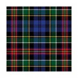 Camelot Fabrics Scottie Plaid Flannel 2150018B `
