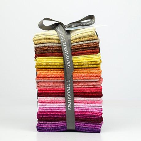 Quilting Treasures Color Blends II Fat Quarters Warm,,,,
