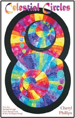 Celestial Circles Pattern Phillips Fiber Art PFA-CCP `