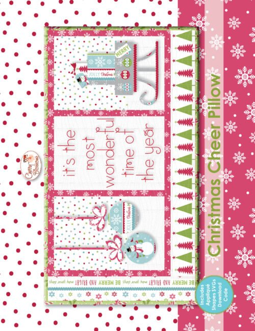 Christmas Cheer with In the Hoop Applique CB161ME by Cherry Blossoms