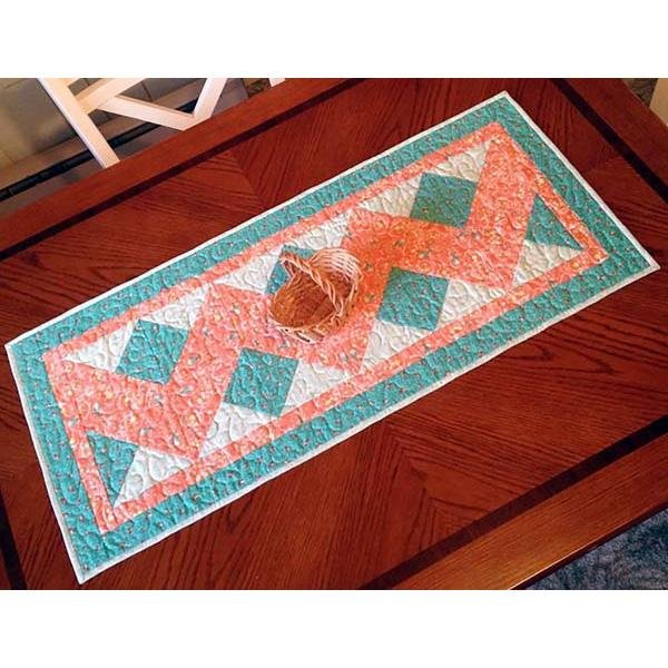 Double Chevron Table Runner `