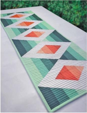 Cut Loose Press Aztec Diamond Table Runner  ~