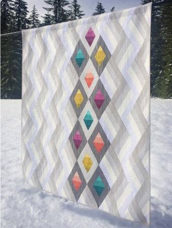 Woven Jewelbox Quilt `