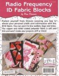 Radio Frequency ID Fabric Blocks by The Decorating Diva 421RF '