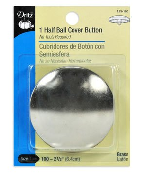 Half Ball Cover Button`