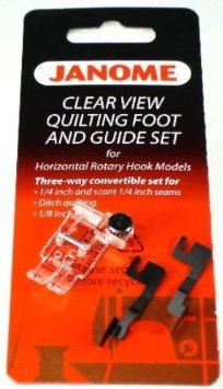 Clear View Quilting Foot Guide set 1/4 `