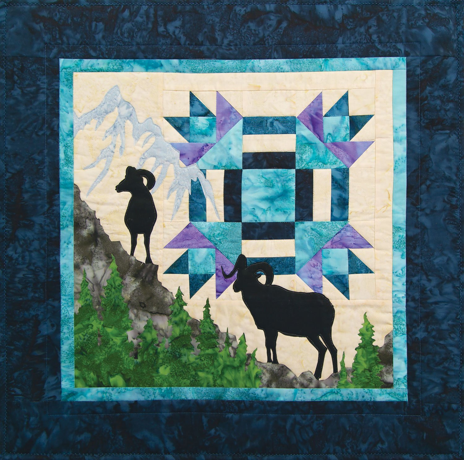 Dall Summit Quilt Kit Northern Threads +