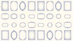 Northcott Botanical Blues Frame Panels 20465-11C
