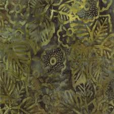 Batik 4117-24 Exotic Blooms Forest Cabana Batiks Moda Fabrics `