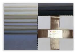 Fabrics: PrecutsTen Squares: Kona Cotton, Gray Area palette`