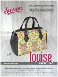 Louise Barrel Bag `