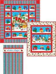 Winter Village Quilt Pattern PTN 1772