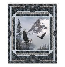 Eagles In Flight Quilt Pattern '