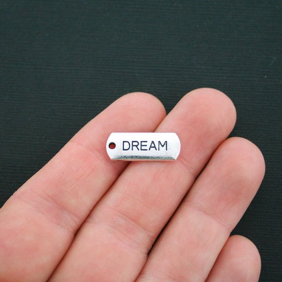 Dream Charm with Lobster Claw -Silvertone`