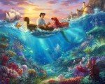 Disney Dreams The Little Mermaid Digital Panel DS20840C1 Four Seasons