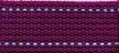 Echino Webbing 25mm - Purple/Periwinkle  ~