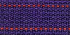 Echino Webbing 25mm - Violet/orange  ~