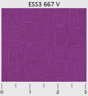 Bear Essentials 3 Violet Maze EES300667V P&G Textiles '