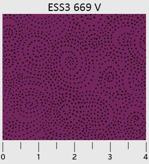 Bear Essentials 3 Swirl Dots Violet ~