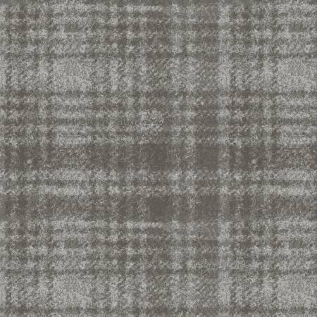 Maywood Woolies Flannel MASF18501-K Grey Plaid  `
