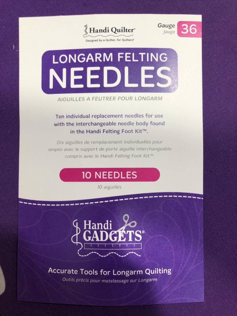 Handi Quilter Longarm Felting Needles 36 Gauge/10 Pack QM00241