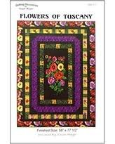 Flowers of Tuscany Quilt Pattern `