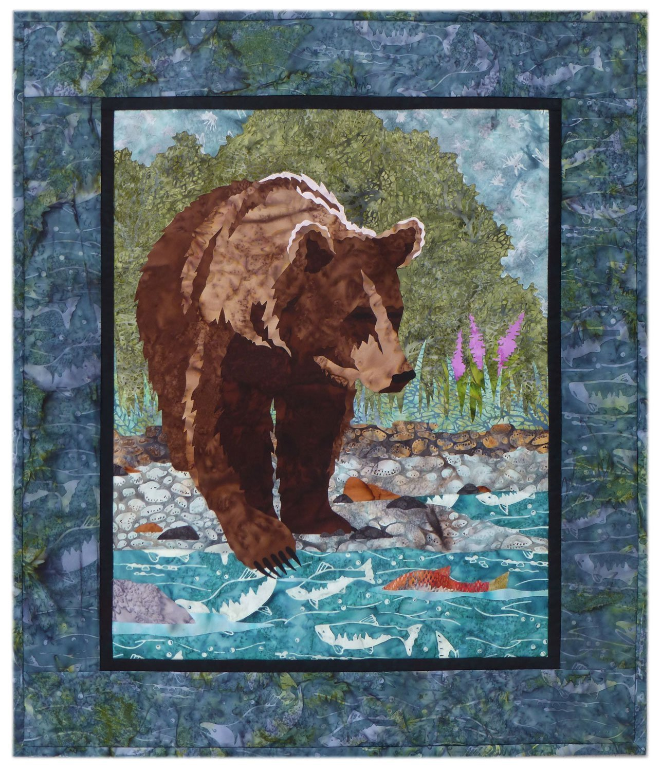 River Run From The Banks Laser Cut Kit Plus Pattern WDA2004LKP Wildfire Designs Alaska