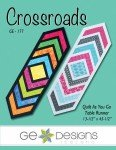 Crossroads Table Runner Quilt as you Go `