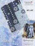 Timeless Treasures Ice Crystals Paper Piecing Pattern JNQ141P