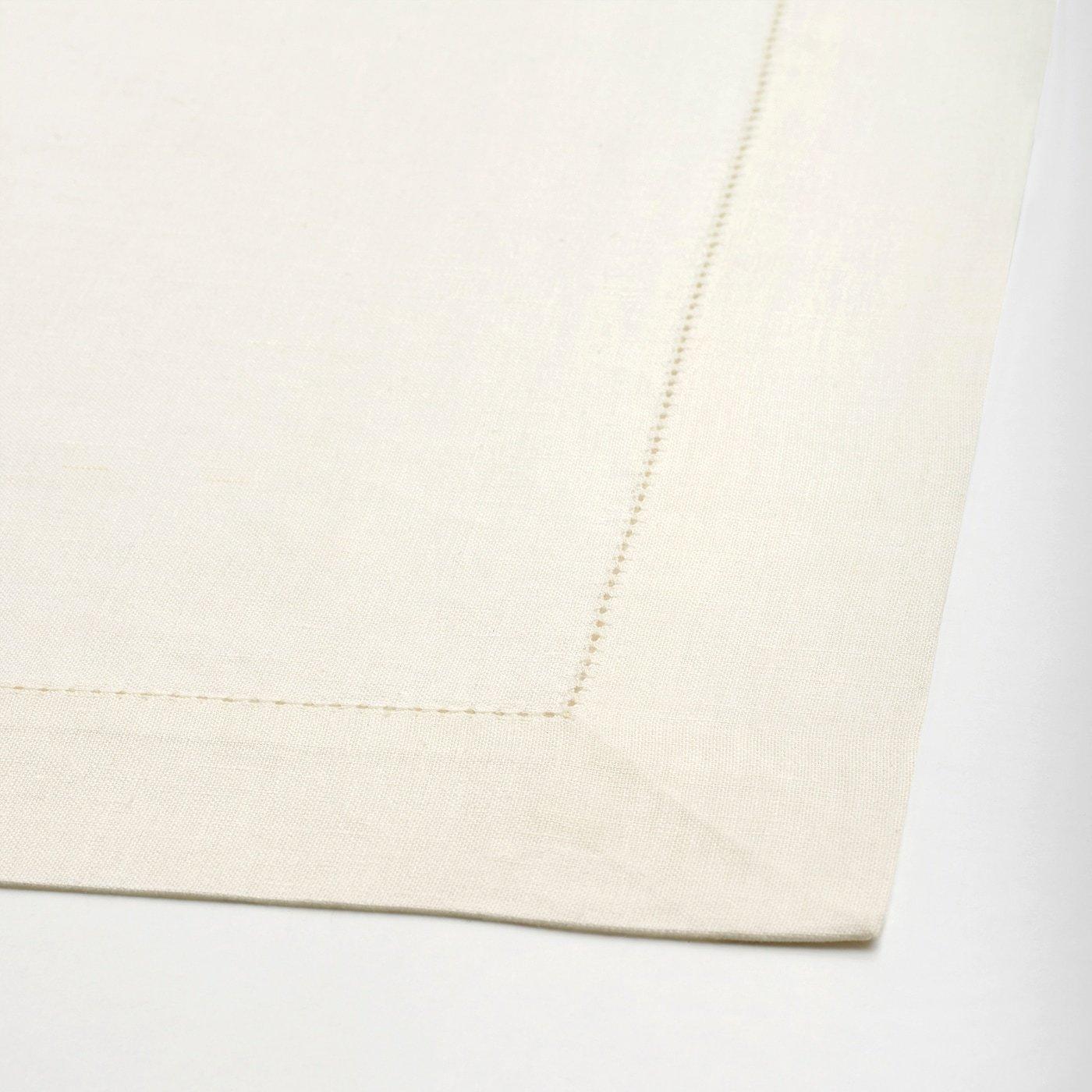 Lace Linen Napkins Ivory