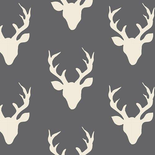 Hello Bear Buck Forest Mist Fabric HBR-4434-9 AGF `