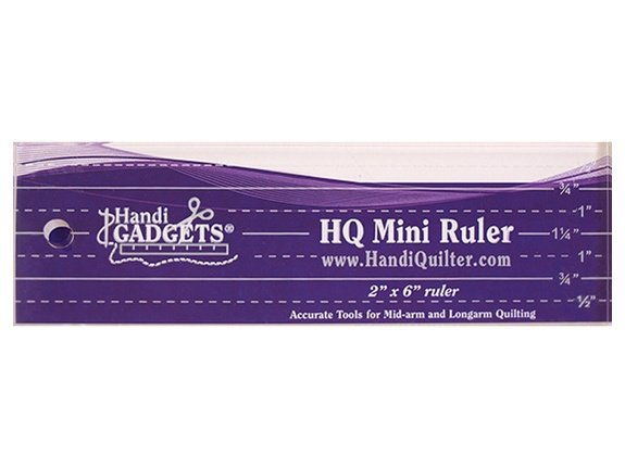HQ Ruler -  Mini  2 x 6 `