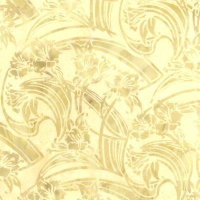 L2608-A25 Art Deco Floral Antique Hoffman Batik '