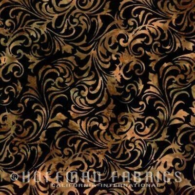 Batik Antique Black N2819-A4 Hoffman Batiks