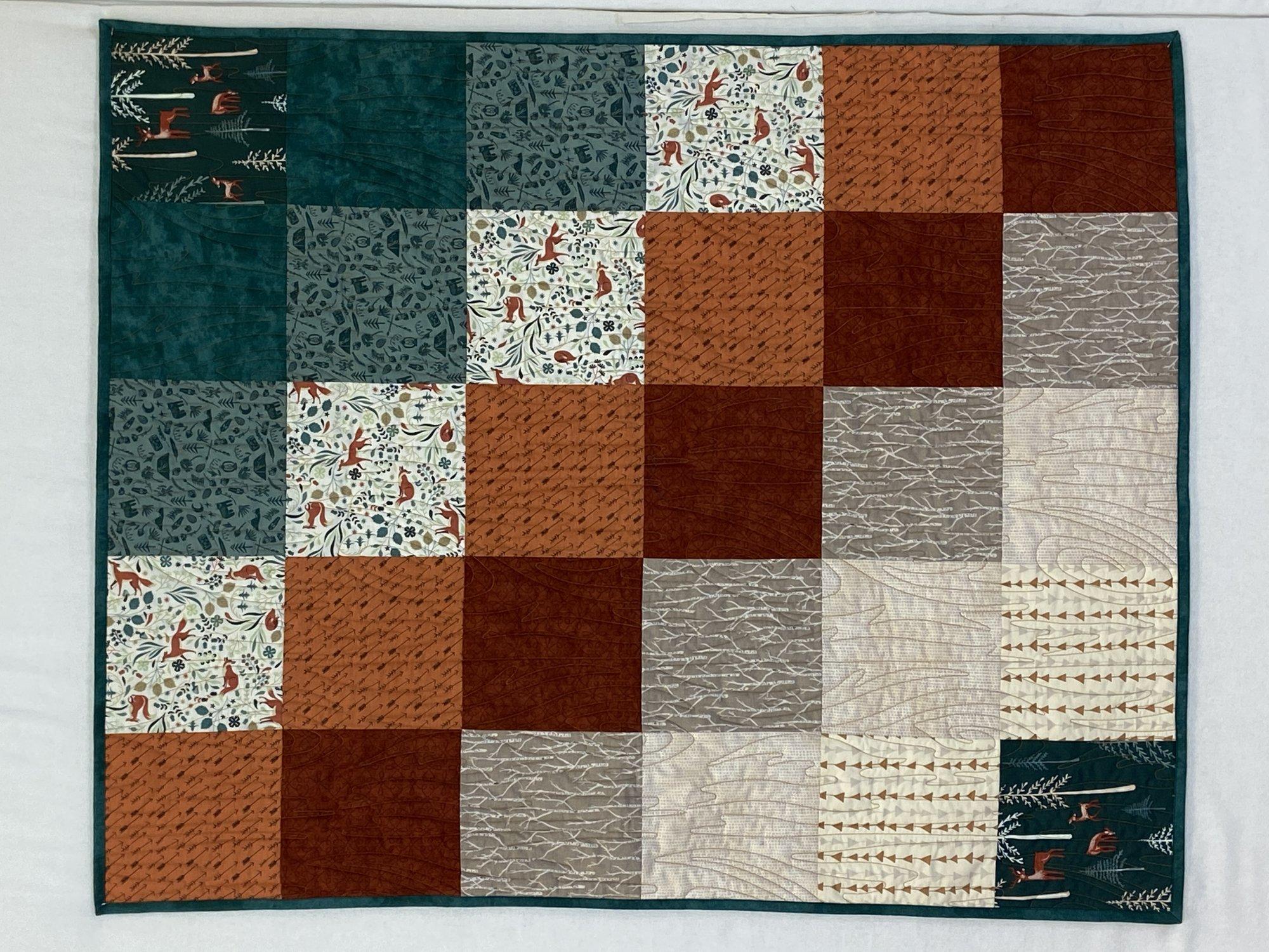 Hello Bear Fabric Oh, Hello Meadow HBR 5430 Kit `