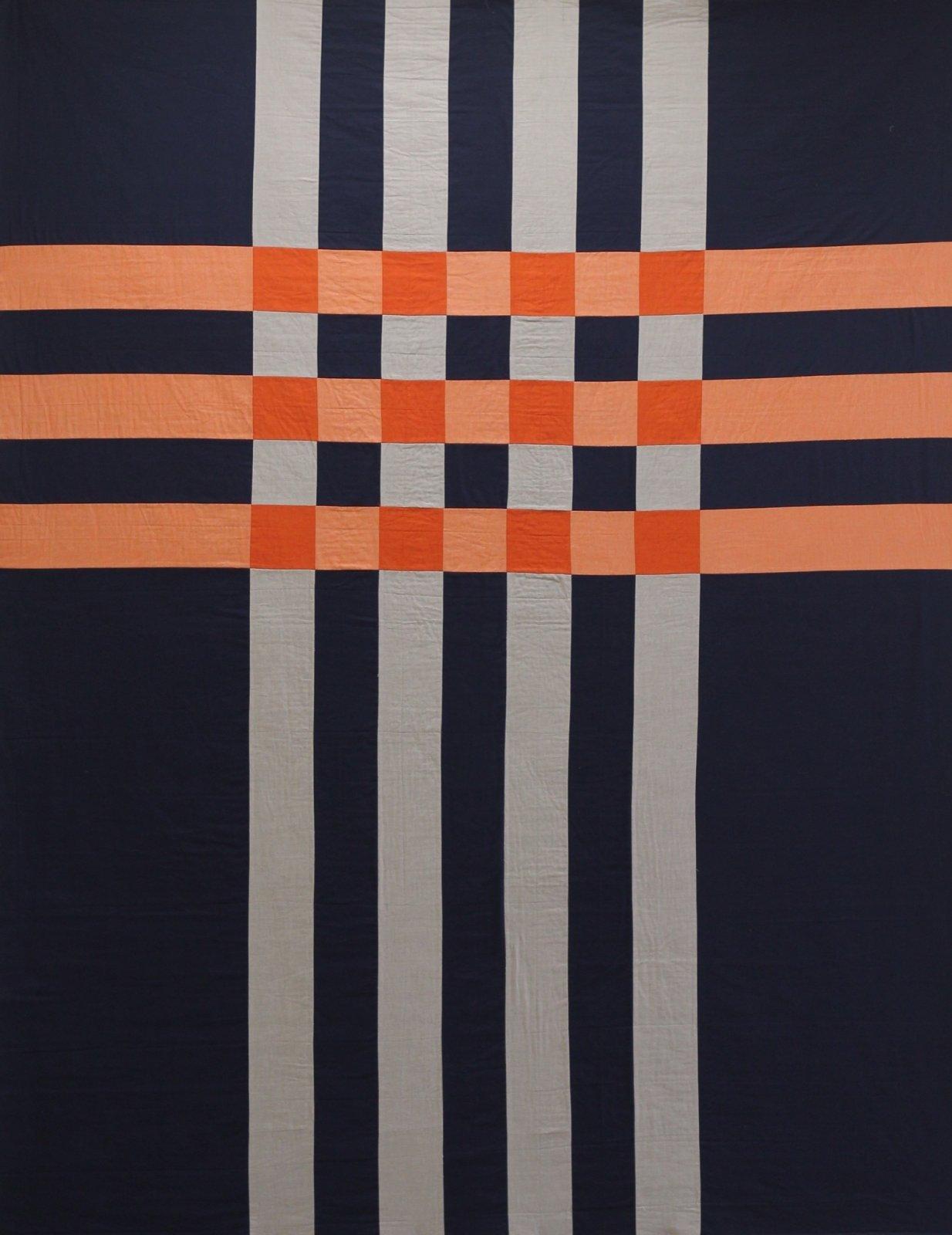 Patchwork Plaid Quilt Pattern