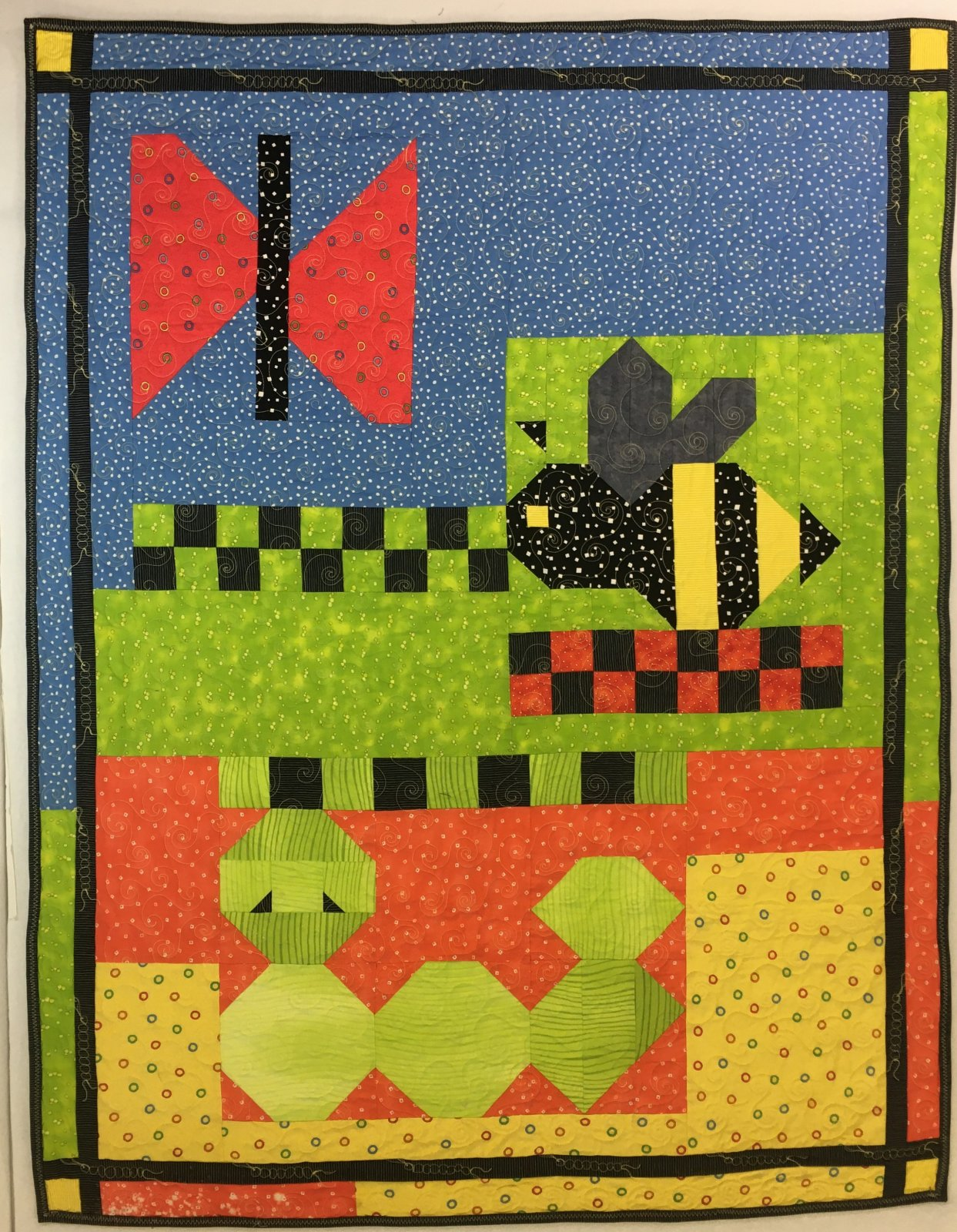 Crawling Critters Quilt