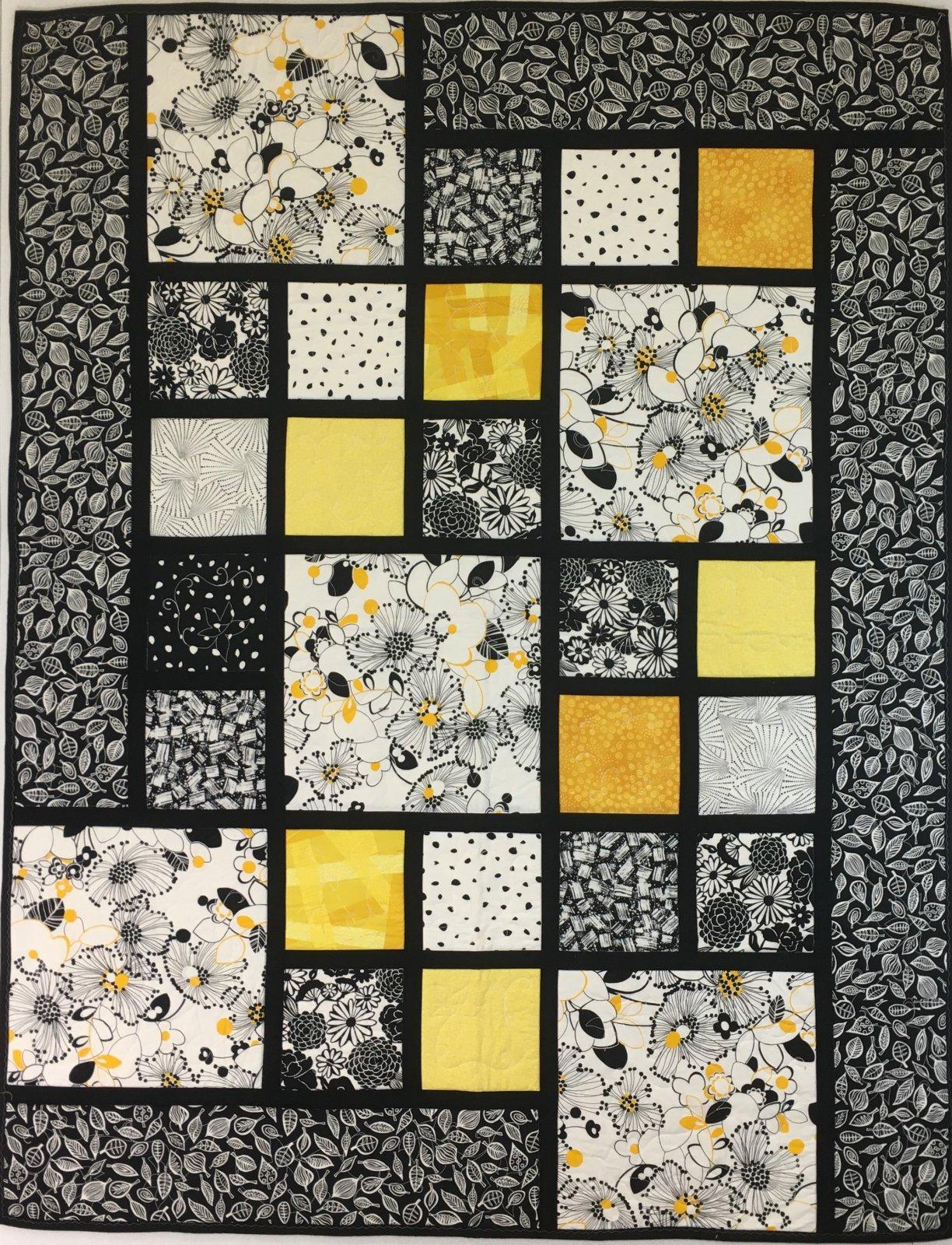 Bucket O' Sunshine Handmade Quilt