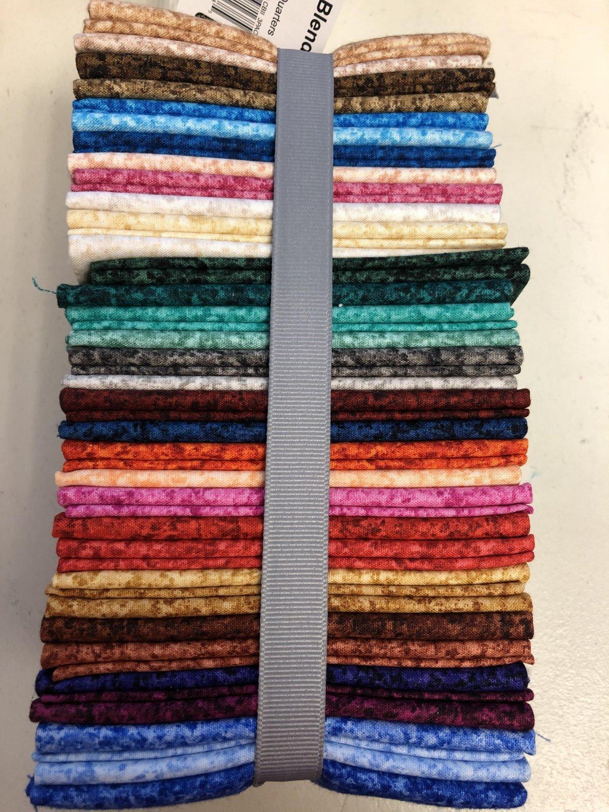Quilting Treasures Color Blends II Fat Quarter Bundle