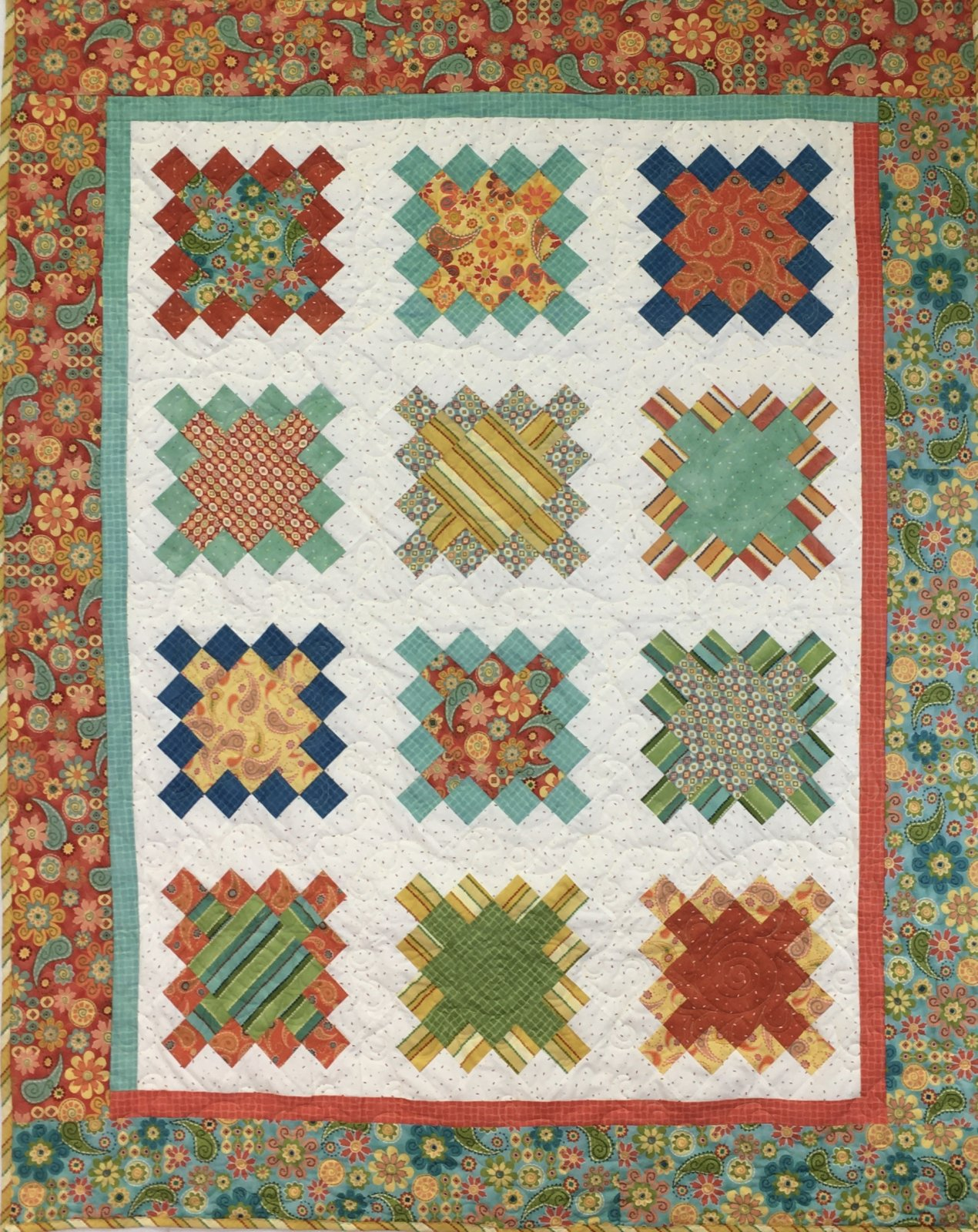 This Rocks Handmade Quilt