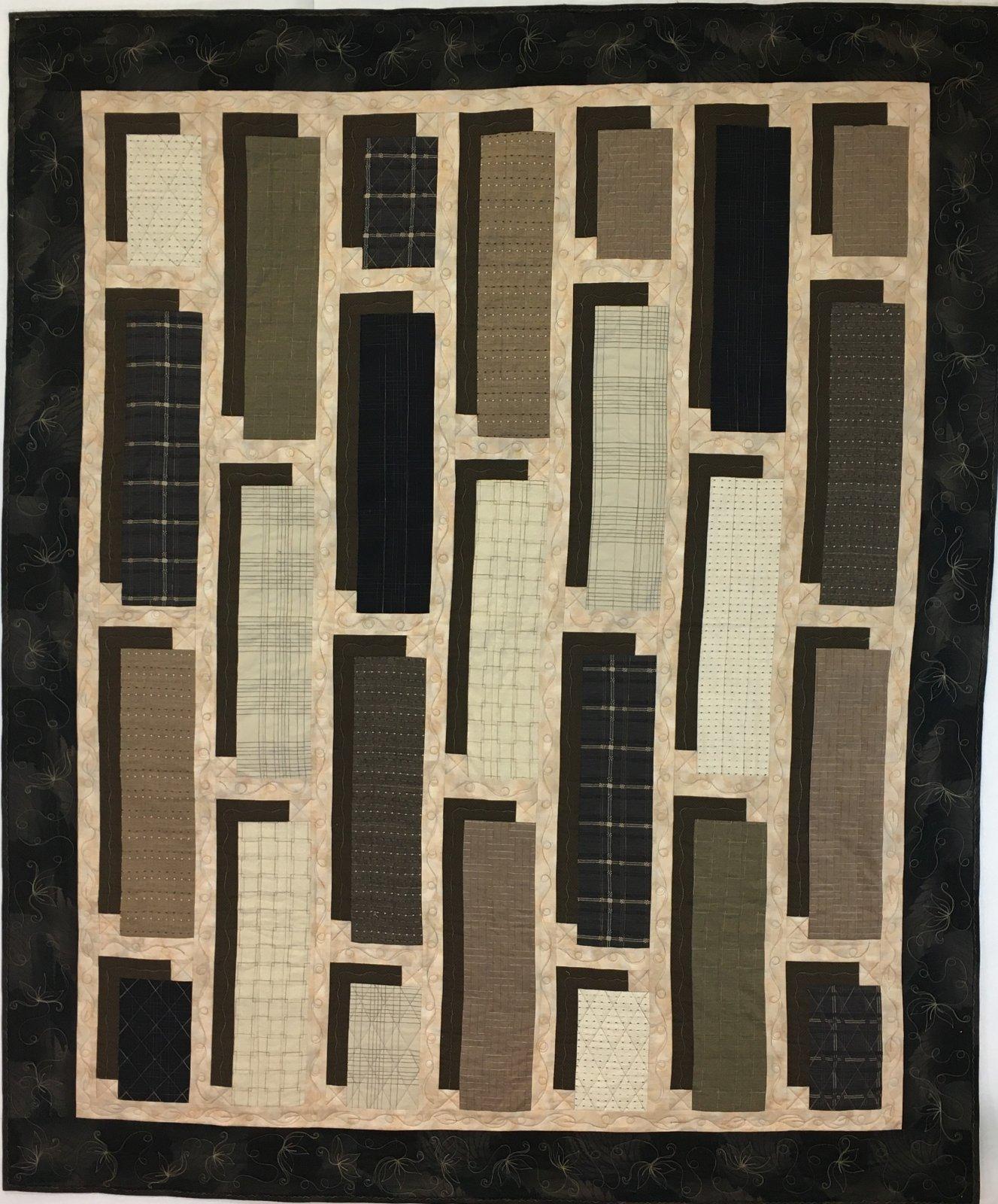 Shadow box Quilt Handmade