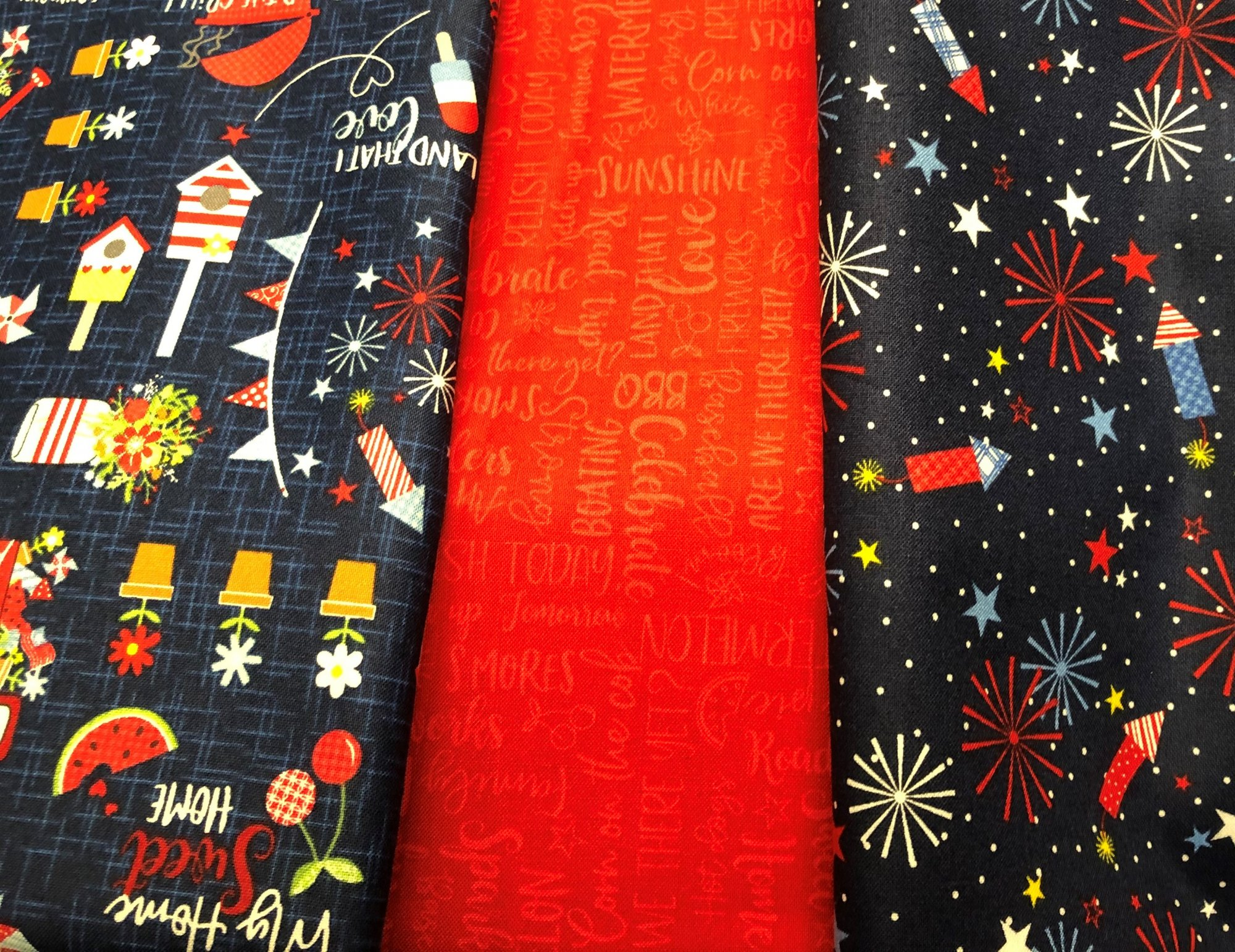 FB W 24 Fireworks at Night 3 Yard Kits